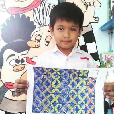Siswa Kelas 3 Sd Labschool Unnes Belajar Membuat Motif Batik