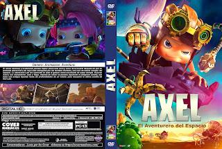 AXEL EL AVENTURERO – AXEL 2 ADVENTURES OF THE SPACEKIDS 2019 [COVER – DVD]