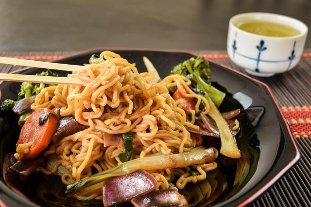Una nueva versión, más saludable, que la yakisoba tradicional