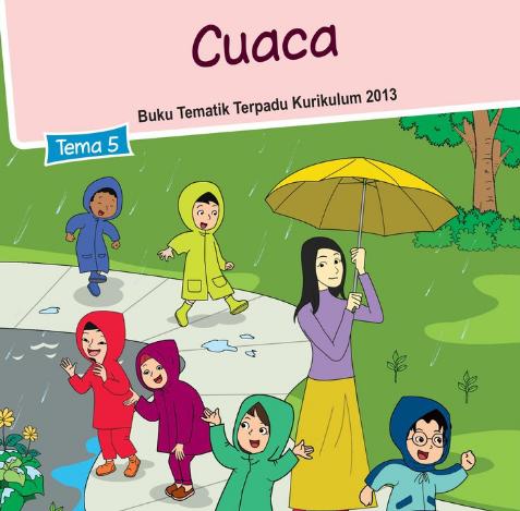 Buku Siswa Kelas 3 SD/MI Tema 5: Cuaca