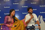 Nani and Keerhi Suresh at Facebook Office-thumbnail-17