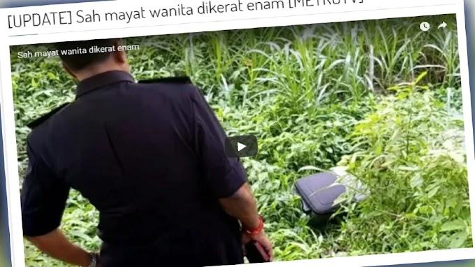 Kisah Individu Tarik Beg Berisi Mayat di Sungai Gombak
