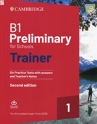 B1 Preliminary for Schools Trainer 1 for the Revised 2020 Exam audio
