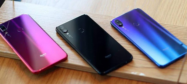 Desain Xiaomi Redmi Note 7