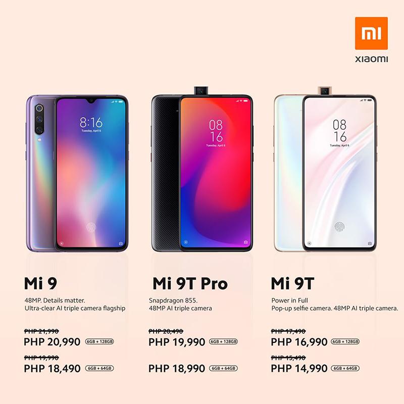 Mi 9, Mi 9T Pro, Mi 9T price cut