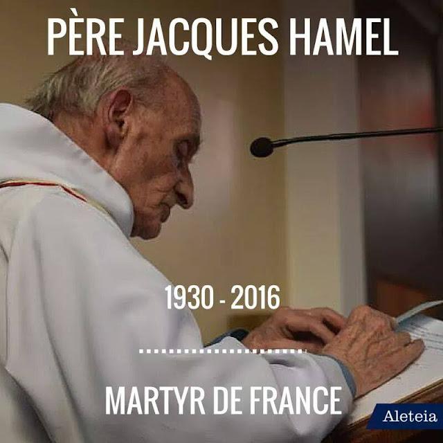 ISIS Serang Gereja Katolik di Prancis Saat Misa Berlangsung dan Bunuh Pastor Paroki