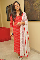 Anusuya in Red at Kalamandir Foundation 7th anniversary Celebrations ~  Actress Galleries 002.JPG