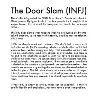 The World We Create: INFJ: The Magic, The Oddness,The Door