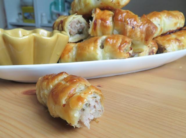 Apple & Sage Sausage Rolls