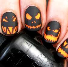 Nail art of Halloween