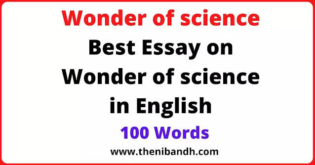 Wonder of science text image