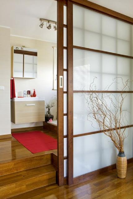 pintu geser model jepang