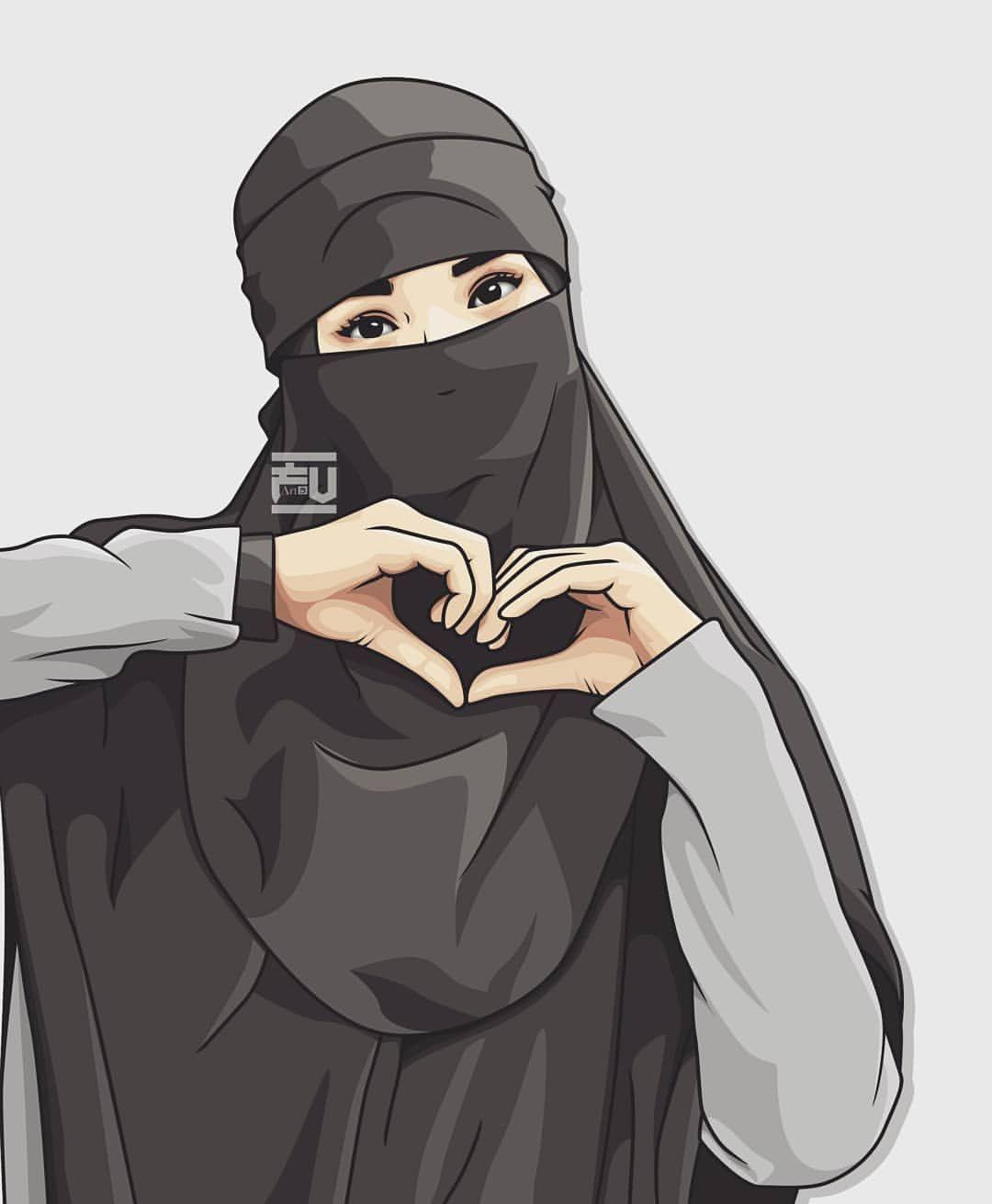 Terbaik 55+ Wanita Muslimah Cantik Gambar Orang Bercadar Kartun