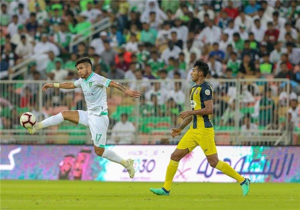 نتيجة مباراة الاهلي والحزم 26-10-2019 الدوري السعودي