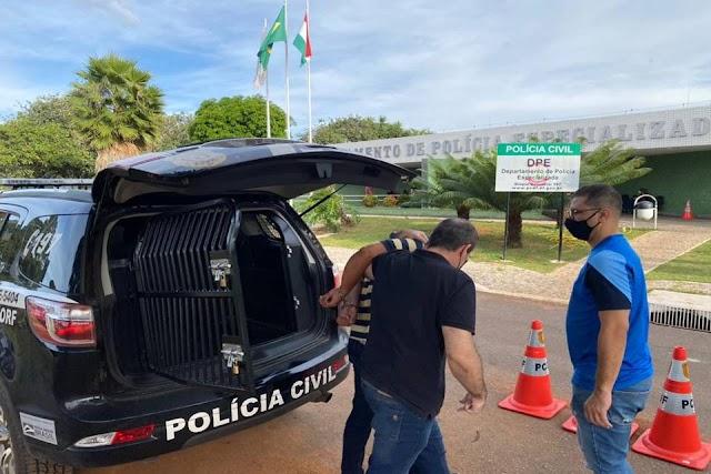 A PCDF prende um homem que tentou abrir conta com documento falso