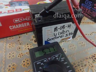 Mengganti Aki Yamaha V-ixion (FZ150i v2)