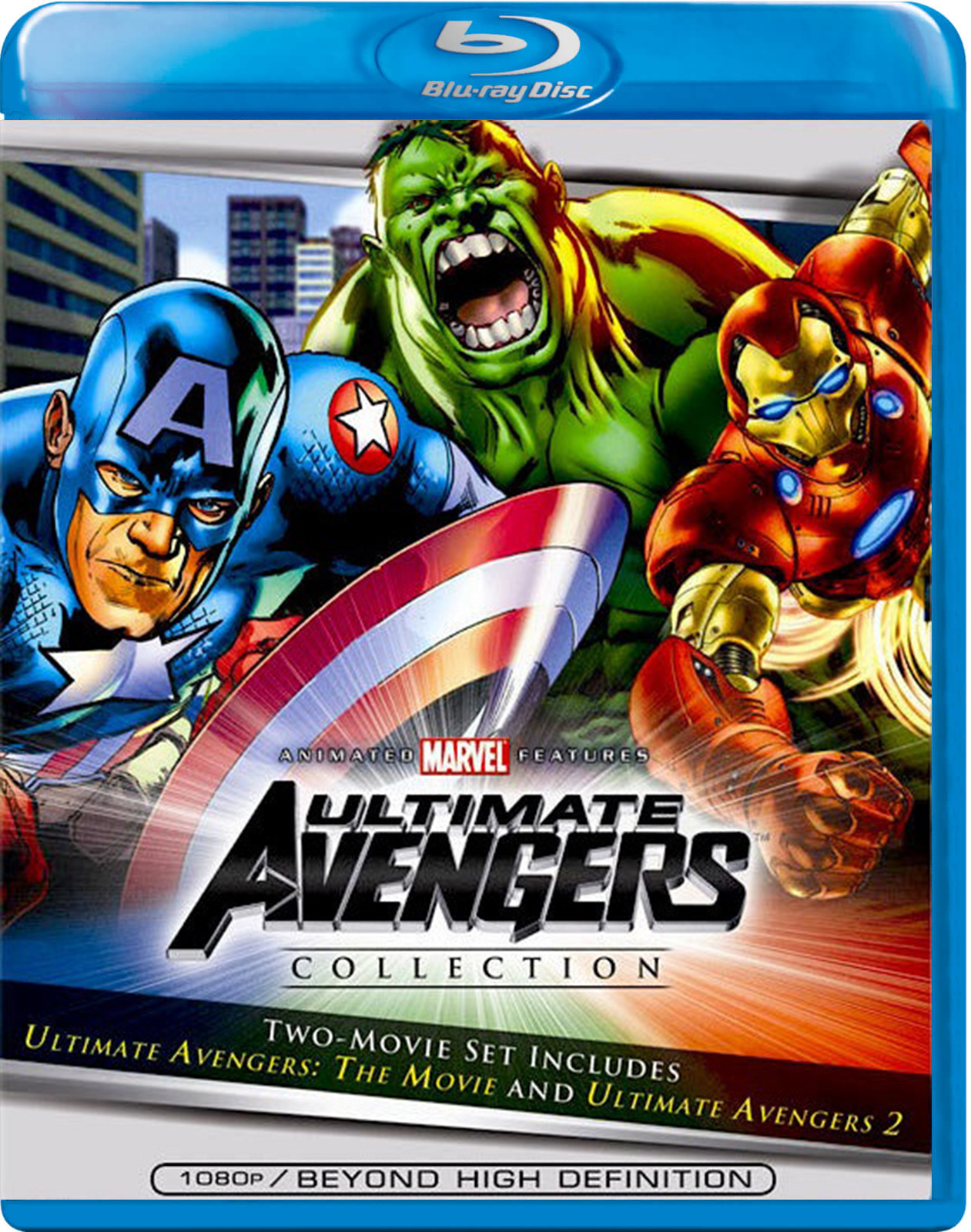 Ultimate Avengers – The Movie / Ultimate Avengers 2: Rise of the Panther [2006] [BD50] [Latino]