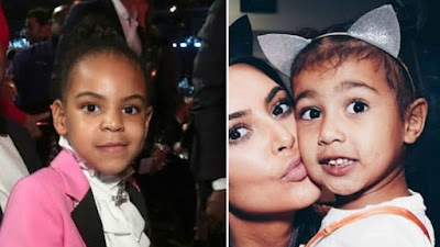 Entertainment News:Video  Kim's Daughter Vs Beyonce's Daughter       Watch now