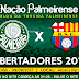 Jogo Palmeiras x Barcelona Libertadores 09/08/2017