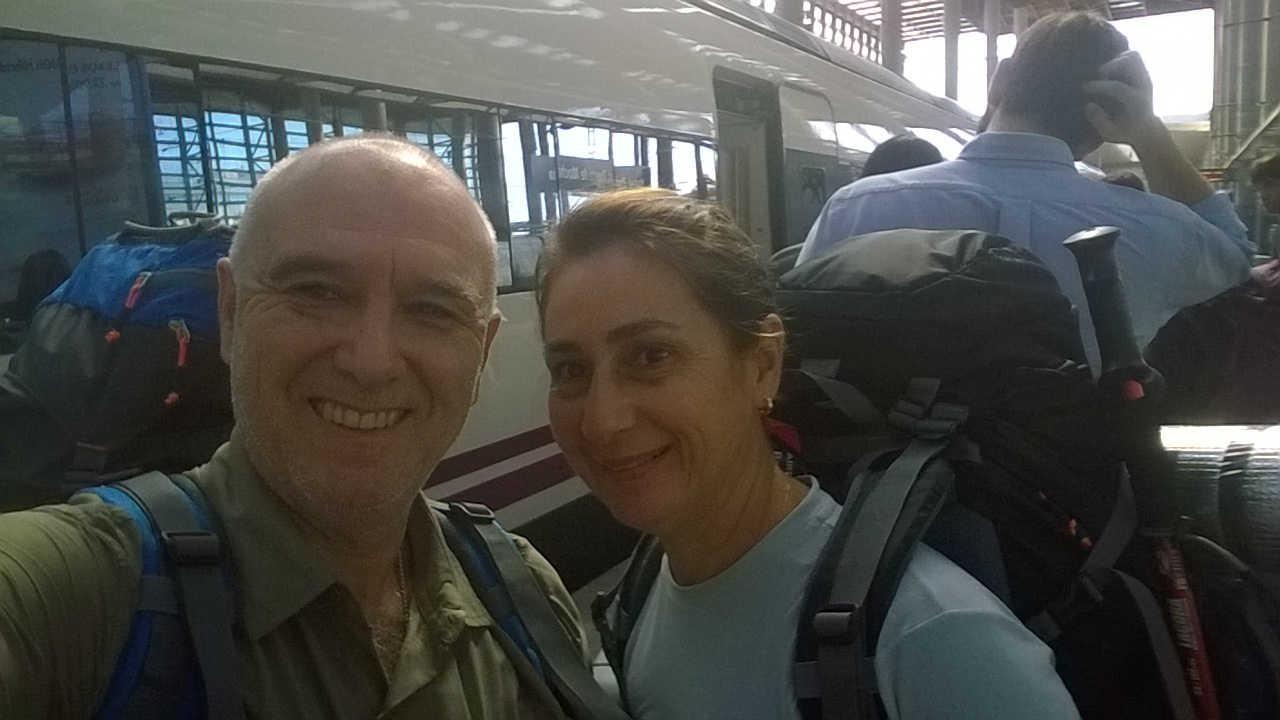 Viagens por Aí - Embarque na estação Atocha-Madrid