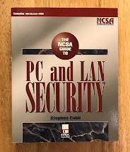 Photo of the NCSA Guide to PC and LAN Security by Stephen Cobb, 1995