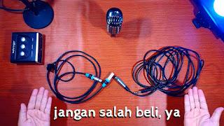 ciri ciri kabel mic dynamic dan kabel mic condenser