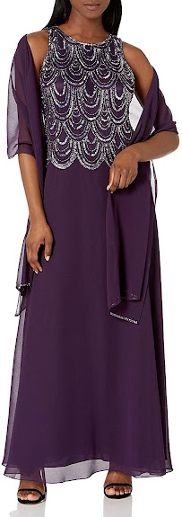 Beautiful Purple Mother of The Groom Dresses