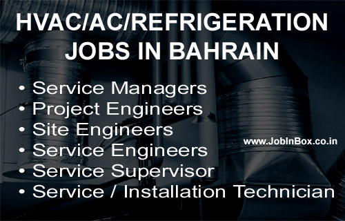 HVAC/AC/REFRIGERATION JOBS IN AWAL GULF MANUFACTURING COMPANY BAHRAIN