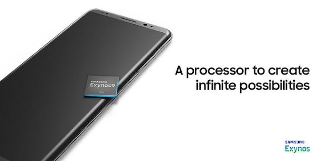 Inikah desain Samsung Galaxy Note 8 dengan chip Exynos 9?