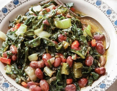 is a Beirut recipe prepared mainly by the end of winter season when swiss Fava Beans and Chard – Foul b Selek Recipe