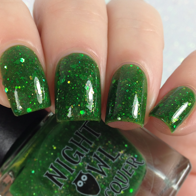 Night Owl Lacquer-Thriller