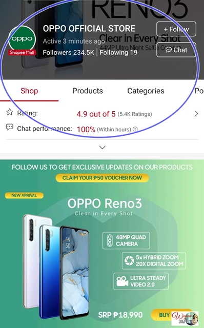 OPPO on Shopee