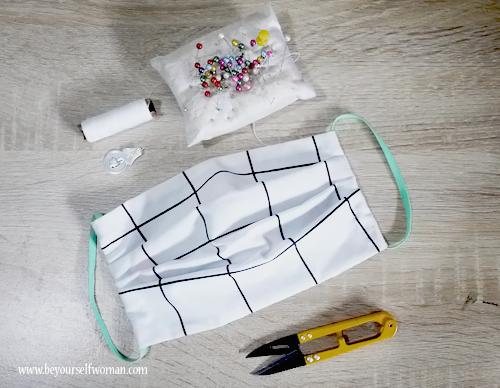 Cara Membuat Masker Kain Jahit Tangan Termudah