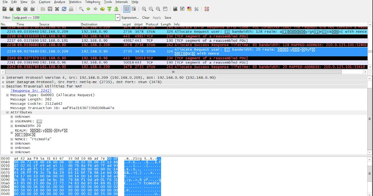 Microsoft Lync / Skype for Business Wireshark Plugin   My