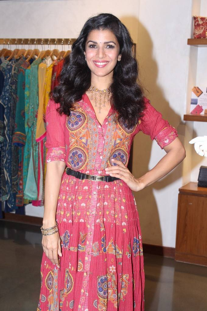 Nimrat Kaur At Winter Festive 2017 Collection Launch Stills