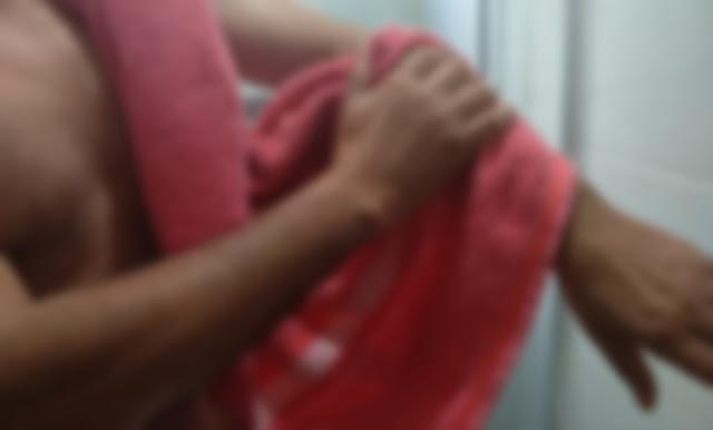 No Paraná, Homem leva facada por usar toalha da esposa para se enxugar