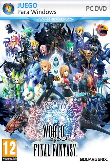 WORLD OF FINAL FANTASY PC Full Español