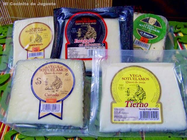 helado de queso curado