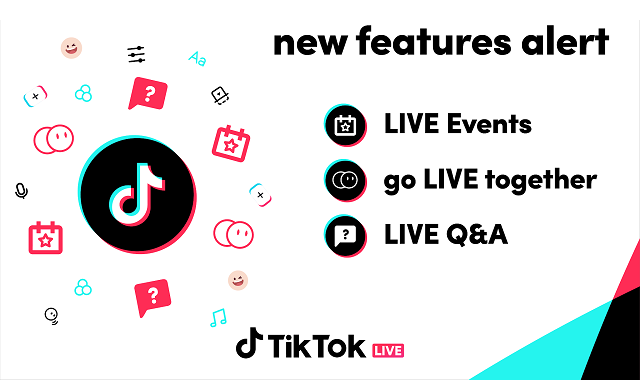 TikTok rolls out a set of new handy features for its livestream
