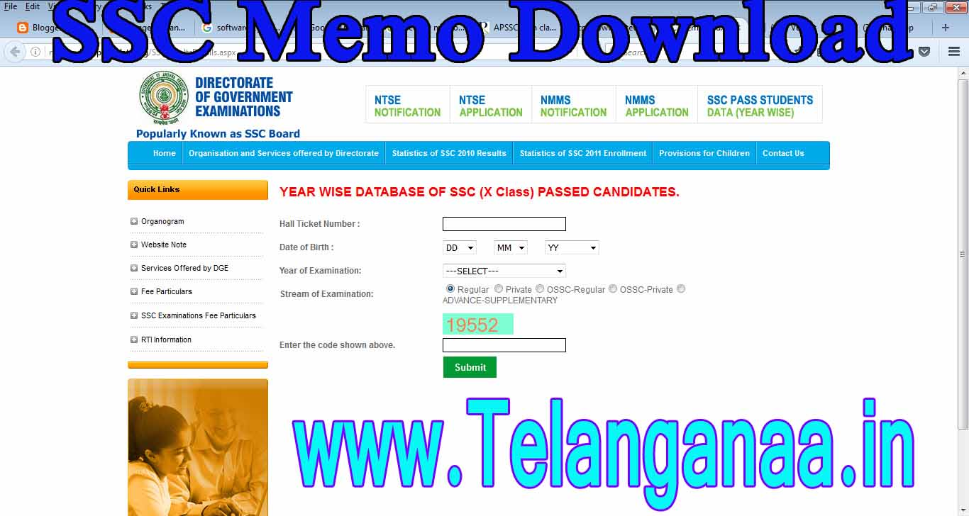 Board Of Secondary Education Andhra Pradesh Ssc Memo AP SSC 41th Class Duplicate Memos Download OnlineGovt Jobs 15