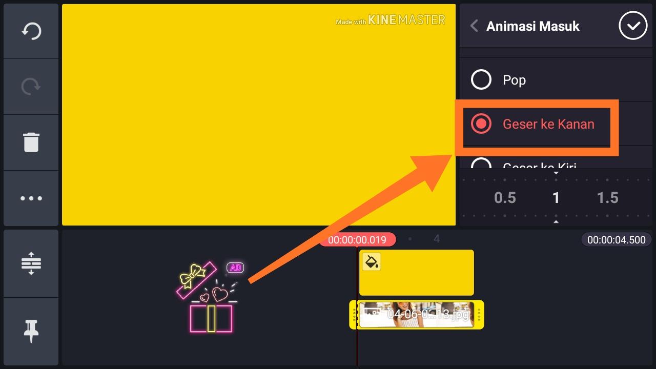 Cara membuat gambar bergerak di HP Android
