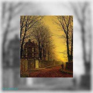 Πίνακας John Atkinson Grimshaw (Autumn gold)