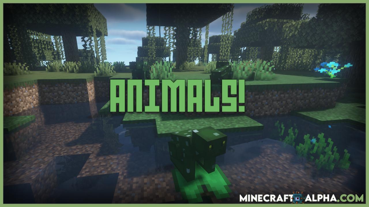 Bizzare Animals Mod For 1.16.5 (More Animals)