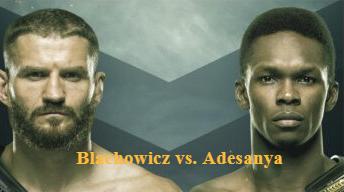 Blachowicz vs. Adesanya