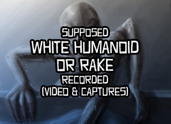 Supposed White Humanoid / Rake Recorded (Video & Captures)