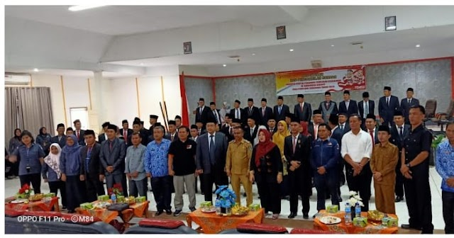 Sejumlah Panwascam Diduga 'Titipan' Komisioner Bawaslu Kabupaten Kerinci Resmi Dilantik