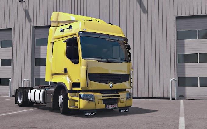 ETS 2 - Renault Premium Truck V1.2 Modu (1.38)