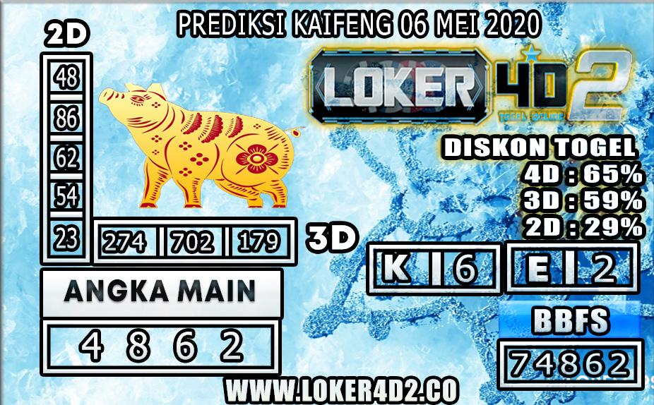 PREDIKSI TOGEL KAIFENG LOKER4D2 06 MEI 2020