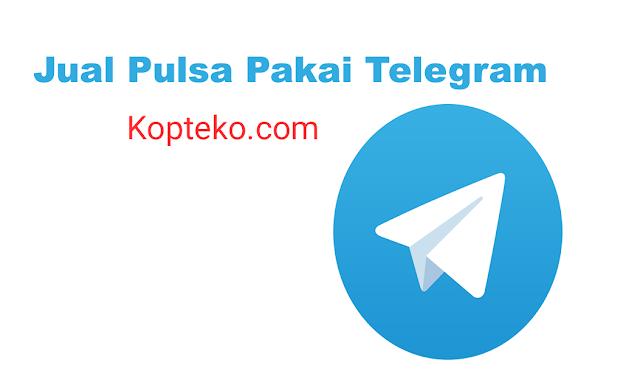 Cara Transaksi Pulsa Lewat Telegram