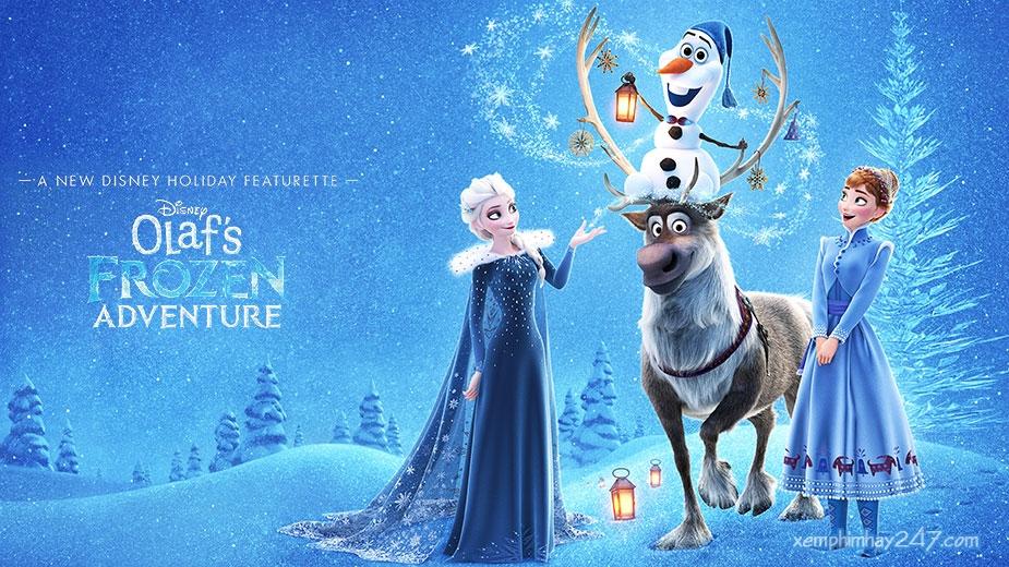 http://xemphimhay247.com - Xem phim hay 247 - Nữ Hoàng Băng Giá: Chuyến Phiêu Lưu Của Olaf (2017) - Olaf's Frozen Adventure (2017)